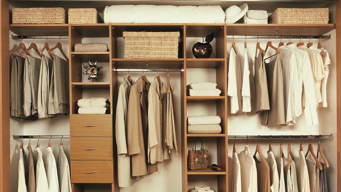 Best Modern Wardrobe Storage Solutions - Vanilla u0026 Ebony wardrobe storage solutions
