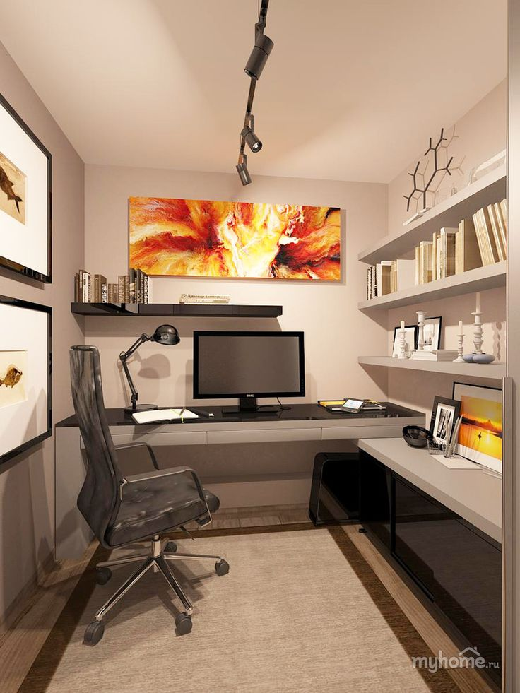 Best Nice small home office - practical setup Kind of how my office is small home office design