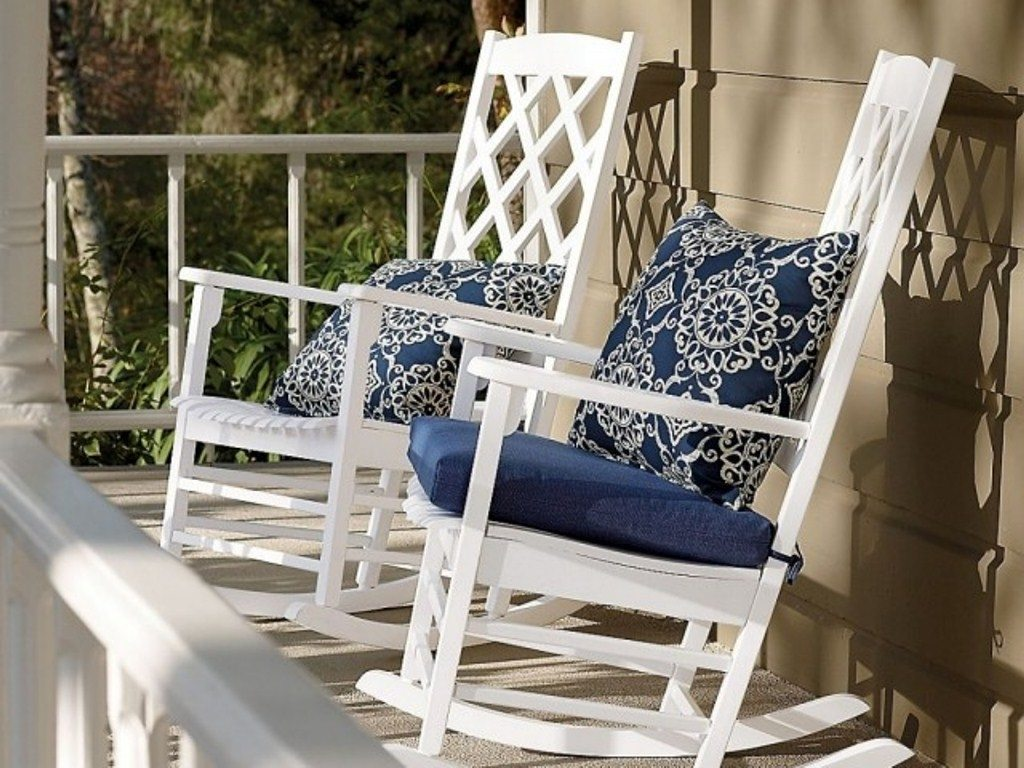 Best Outdoor Rocking Chair Cushions Wood Outdoor Rocking Chairs With  Cushions
