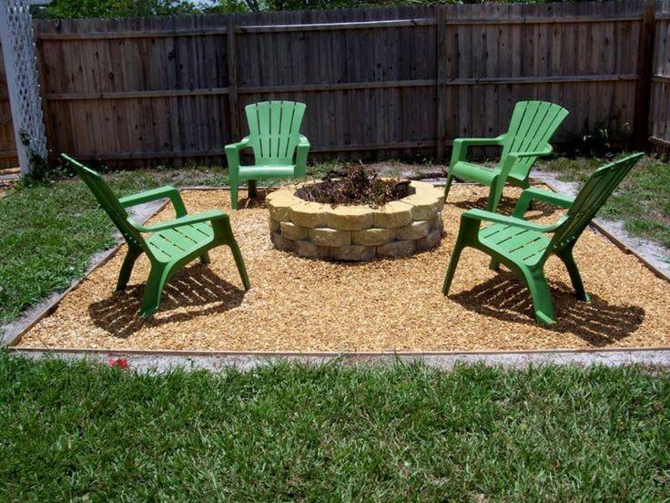 Best Simple Backyard Ideas : Outdoor, Outdoor Green Chairs For Simple Backyard backyard ideas on a budget patios
