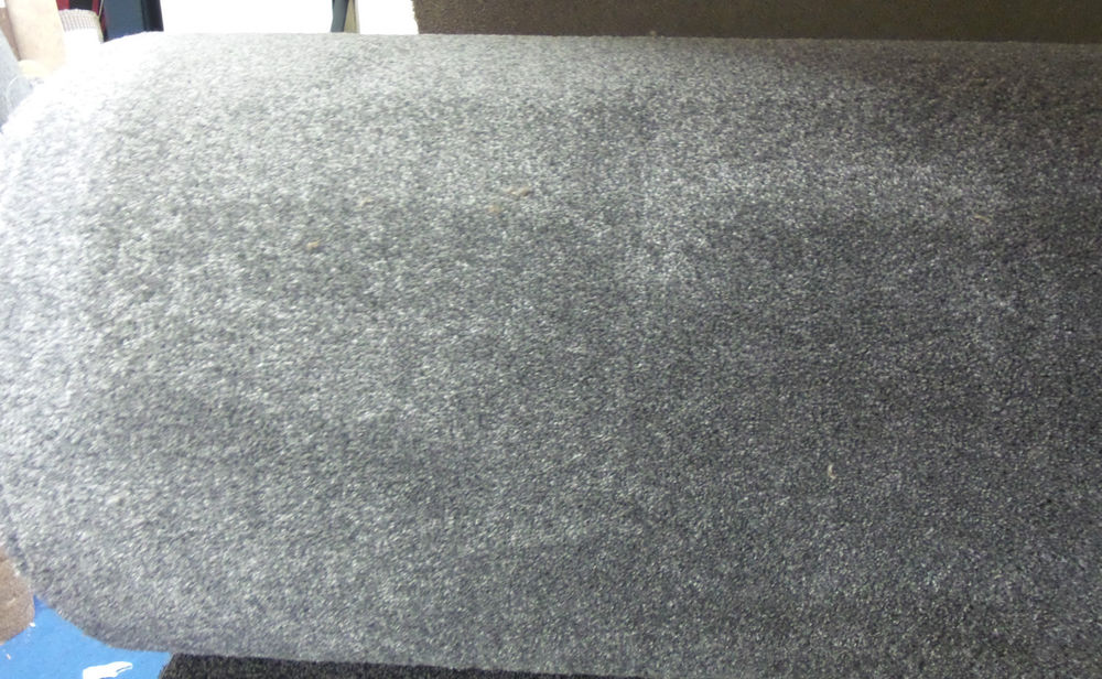 Best Super SOFT 15mm THICK Silver Saxony Carpet *£9.99sqm** FREE DELIVERY luxury silver carpet