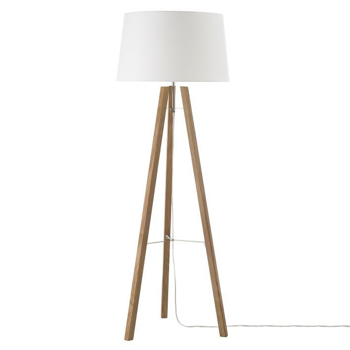 Best Tripod Wood Floor Lamp | west elm tripod floor lamp