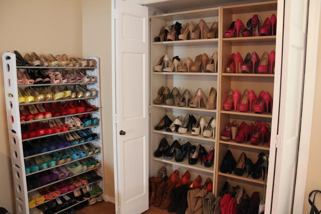 Best Wall Mounted Closet Anizer Storage Anization wall mounted shoe racks for closets