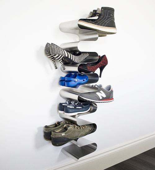 Best wall mounted shoe storage rack cool shoe racks