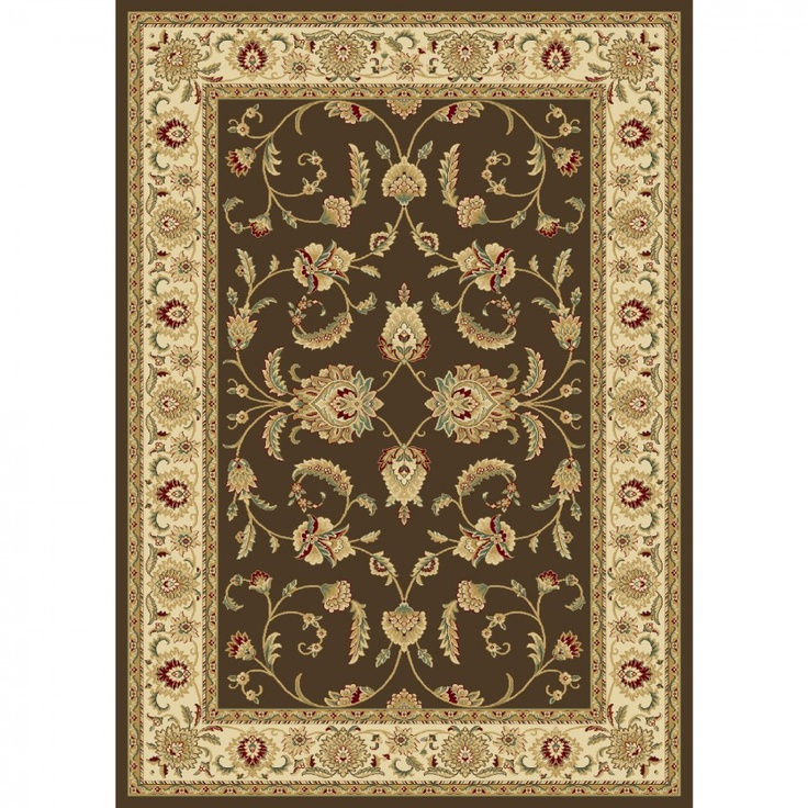 Master Central Oriental Persian Radiance Amelia Brown / Wheat Oriental Rug - central oriental rugs