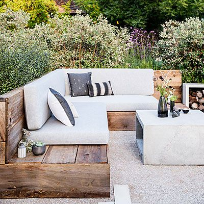 Chic 22 Ideas for Outdoor Furniture patio furniture ideas