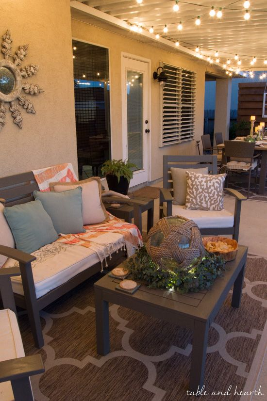 Patio ideas: Painting an outdoor concrete patio - darbylanefurniture.com
