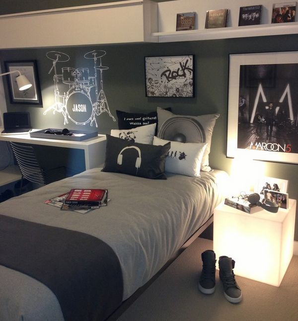 Chic 36 Modern And Stylish Teen Boysu0027 Room Designs | DigsDigs teen boy room decor