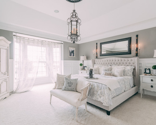 Chic 4,457 Shabby-Chic Style Bedroom Design Photos shabby chic bedroom