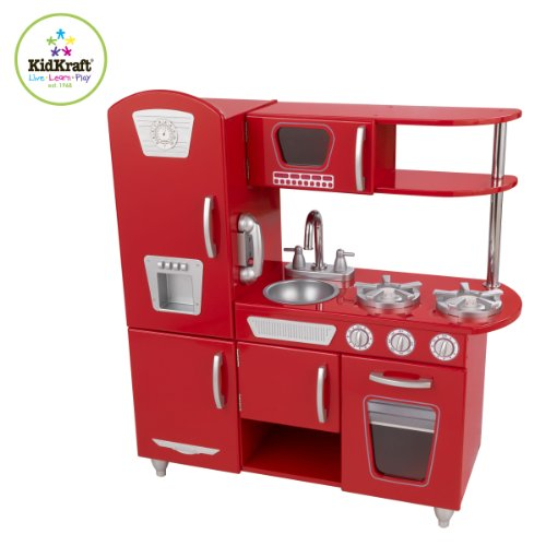 Chic Amazon.com: Red Retro Kitchen: Toys u0026 Games kidkraft retro kitchen