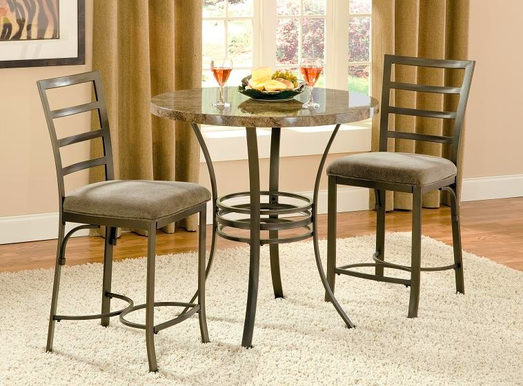 Chic Collision three piece set by Steve Silver bistro sets for kitchen