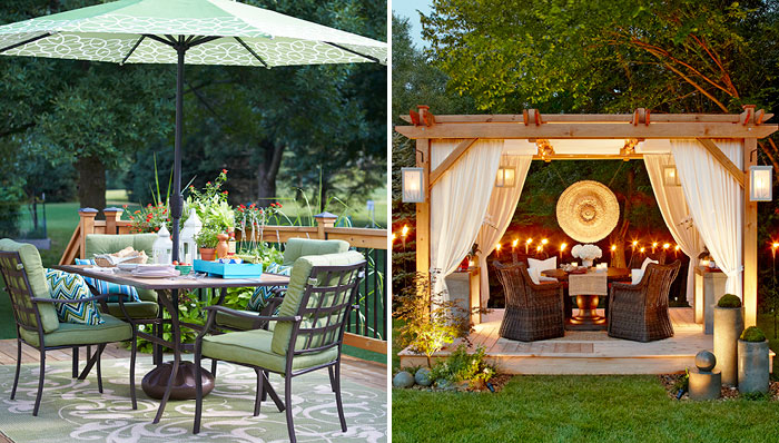 Chic Deck and patio decorating and outdoor decor patio decorating ideas