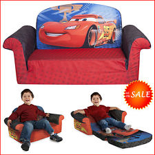 Chic Disney Car 2in1 Flip Sofa Bed Kids Toddler Boy Sleeper Furniture Reclining sofa bed for baby