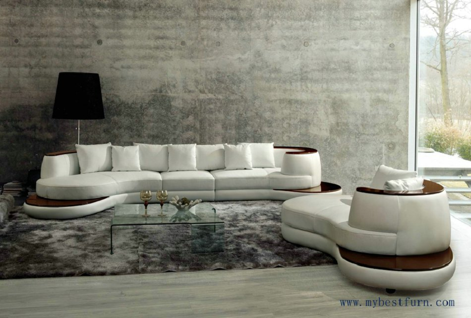 Chic Free Shipping Luxury Villa Sofa Set, Sofa and longue furniture set, luxury model l shape sofa set models