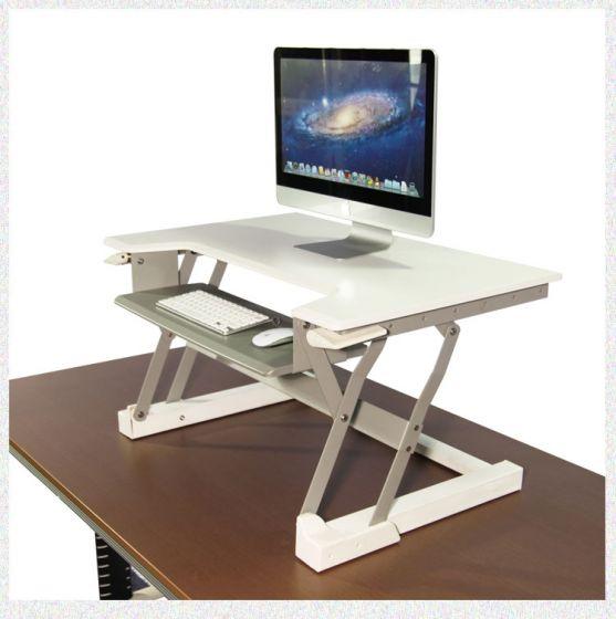 Chic Height Adjustable Standing Desk Converter,Prevention Of Cervical  Spondylosis Stand up Desk sit stand desk converter