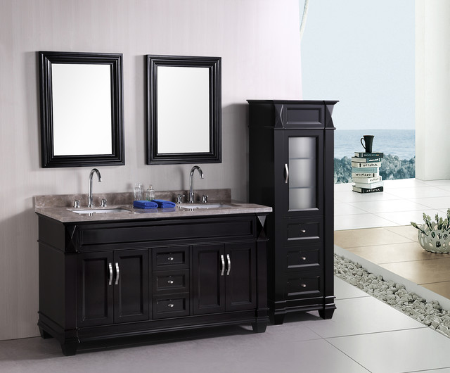 Chic Hudson 60 bathroom vanity sets