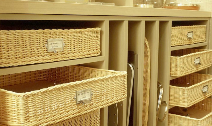 Chic If ... storage baskets for shelves