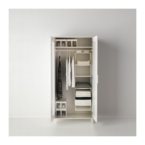 Chic IKEA ANEBODA wardrobe Adjustable hinges ensure that the doors hang straight. ikea aneboda wardrobe armoire white