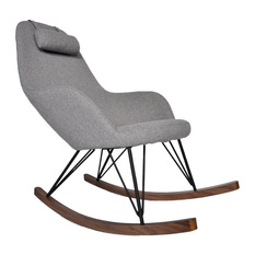 Chic Ingrid Rocking Chair - Rocking Chairs modern rocking chair