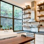 Exotic and interesting kitchen shelving ideas