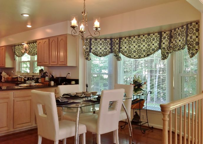 Chic modern-kitchen-curtains-and-valances kitchen curtain valances