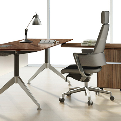 Chic Modern Office Desk Sets contemporary office furniture