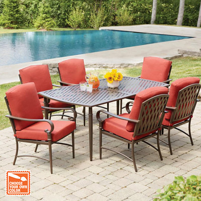 Chic Outdoor Dining Chairs · Customize Your Own Patio outdoor furniture dining sets