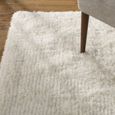 Chic Pierce White Shag Area Rug white and gray shag rug