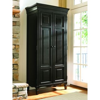 Chic Summer Hill Midnight Finish Tall Cabinet assembled wardrobe closets