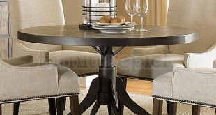 Chic ... Upholstered Chairs; Walton Round Dining Table ... dining room sets with upholstered chairs