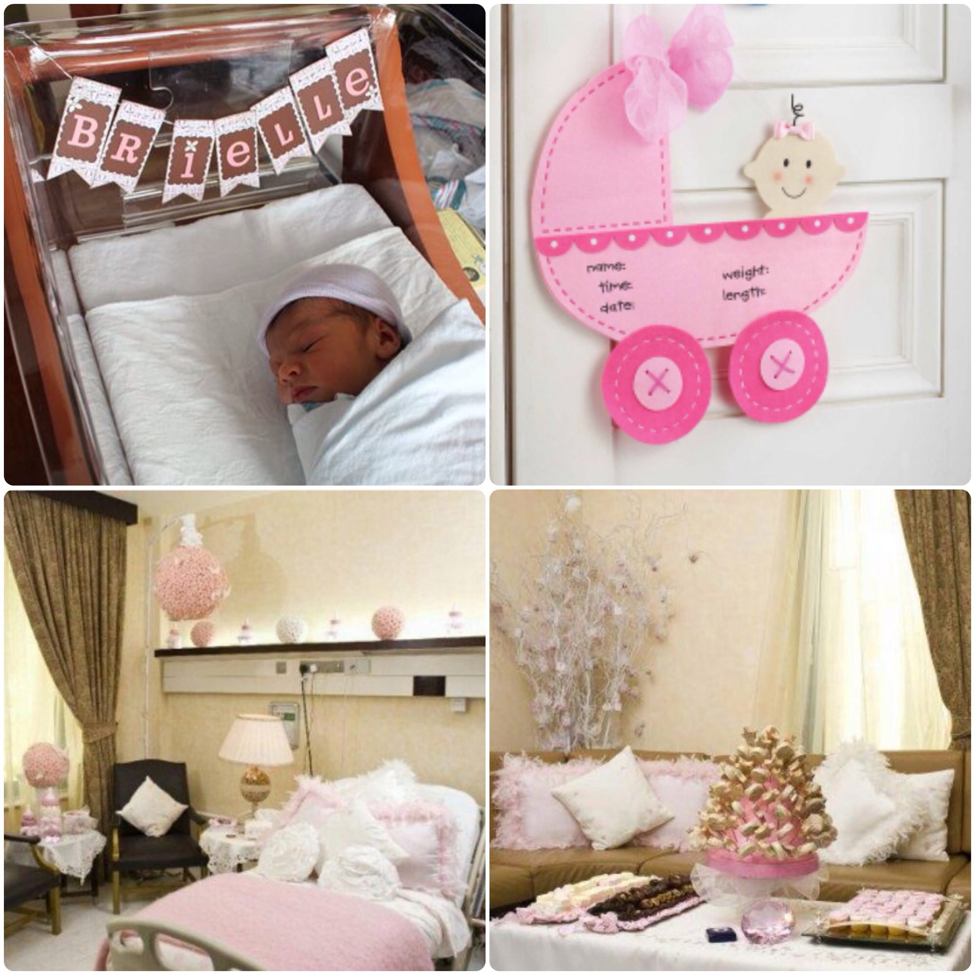 Marvelous Charmant Chic Welcome Your Baby And Your Visitors With A Beautfully  Decorated Hospital Room! Newborn