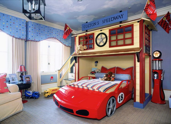Elegant Kids Bedroom Furniture in Car Theme   Home Interior Design  designkastle com600   childrens. Childrens Bedroom   Things to Consider   darbylanefurniture com