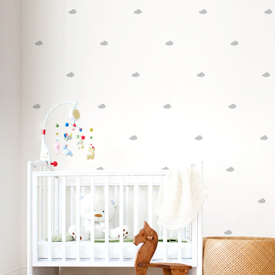 Awesome ?zoom cloud wall stickers