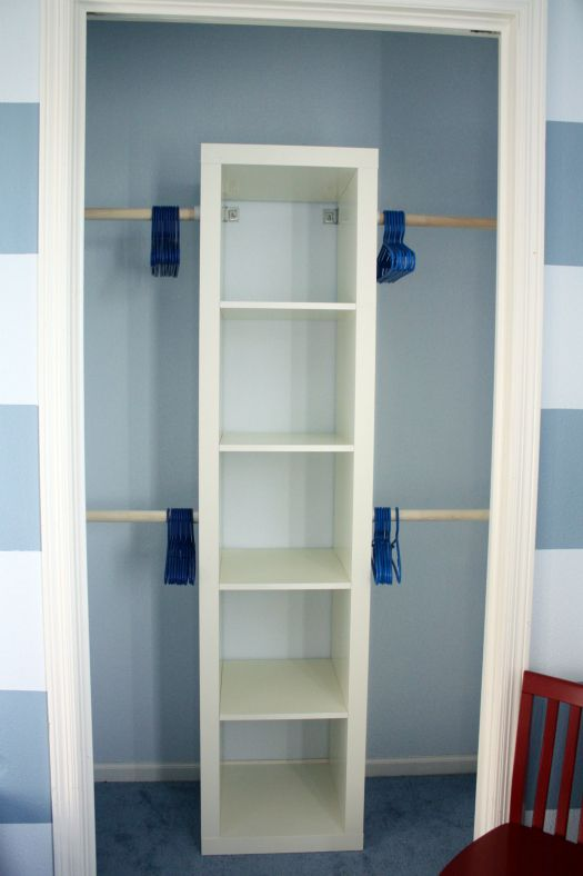Compact 10 Ways to Squeeze a Little Extra Storage Out of a Small small closet solutions
