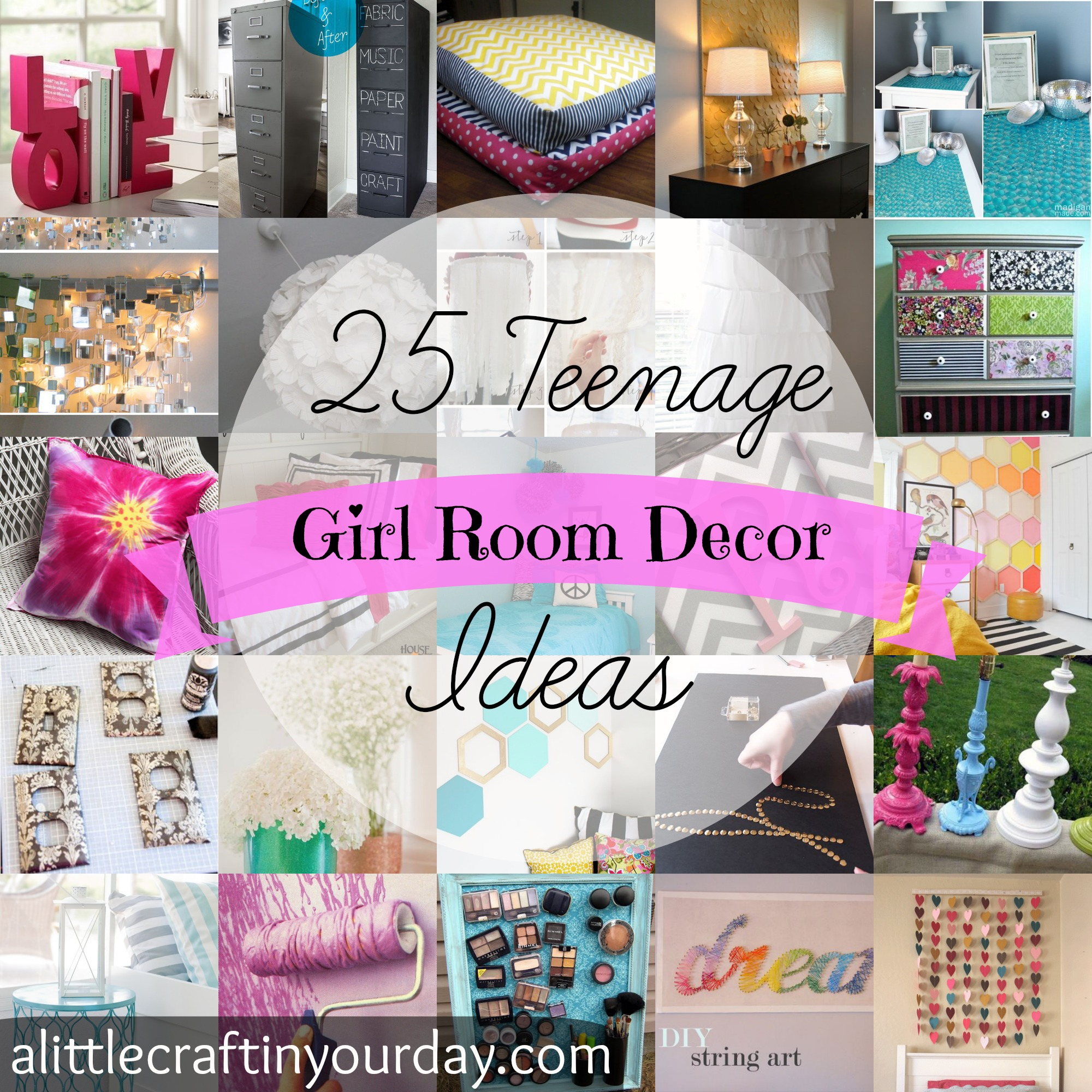 Compact 25_Teenage_Girl_Room_Decor_Ideas diy teen room decor