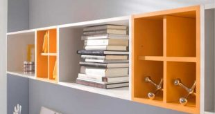 Compact Beehive Shaped Wall Storage Shelf | geek bedroom | Pinterest | Storage wall storage shelves