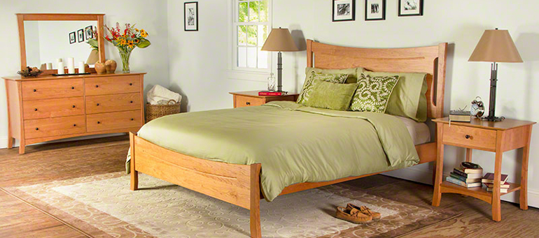 Compact Brandon arts and crafts style bedroom set arts and crafts bedroom furniture
