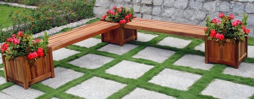 Compact Cool Garden Bench Seat Plans garden bench seat