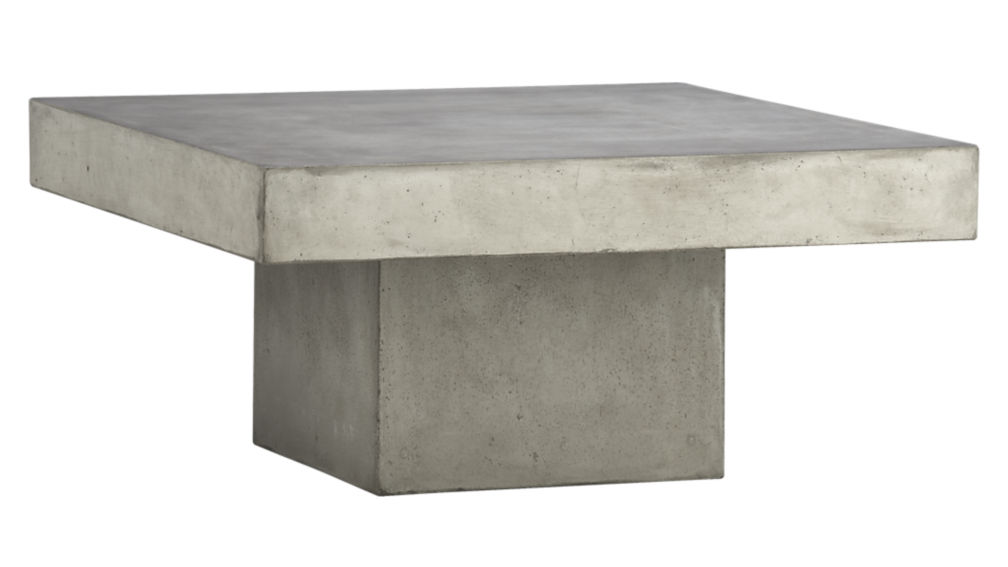 Compact ... element coffee table ... outdoor concrete coffee table