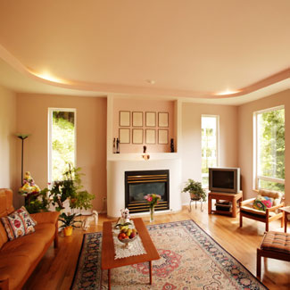 Compact Family Room. Decorating inspiration ... family room decorating ideas