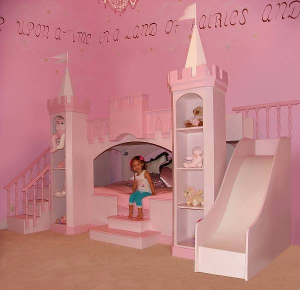 Compact Pink Princess Girls Bedroom Ideas with Castle Bedroom Set Decorating the Princess princess castle bedroom set