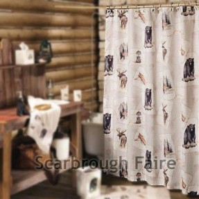 Compact Rustic+Bathroom+Shower+Curtains | Rustic Shower Curtains - Rustic Home  Decor for rustic shower curtains