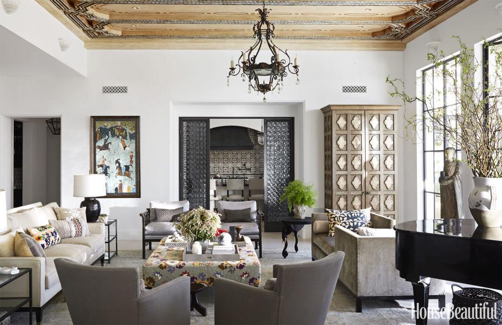 Contemporary 145+ Best Living Room Decorating Ideas u0026 Designs - HouseBeautiful.com sitting room decor