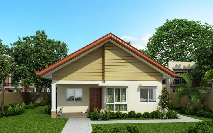 Contemporary Alexa - Simple Bungalow House | Pinoy ePlans - Modern House Designs, simple small home design