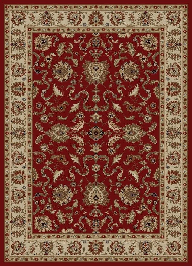 Contemporary Ankara Agra Red Traditional Oriental Rug - 5u00273X7u00273 traditional oriental rugs