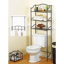 Contemporary Bath 3 Piece Complete Bath Set Bronze Bathroom Accessories Magazine Rack complete bathroom sets