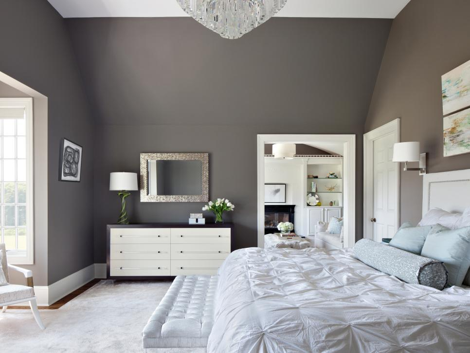 Contemporary Dreamy Bedroom Color Palettes | HGTV wall color schemes for bedrooms