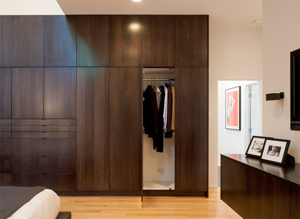 Contemporary Iu0027d guess this bedroom is owned by a man because of what you woodwork designs for bedroom cupboards
