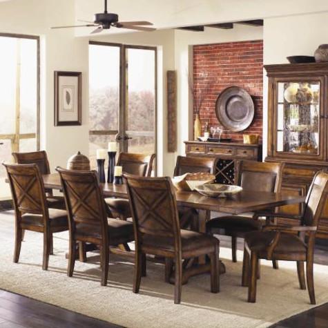 Contemporary Legacy Classic Furniture Larkspur Dining Table legacy classic furniture