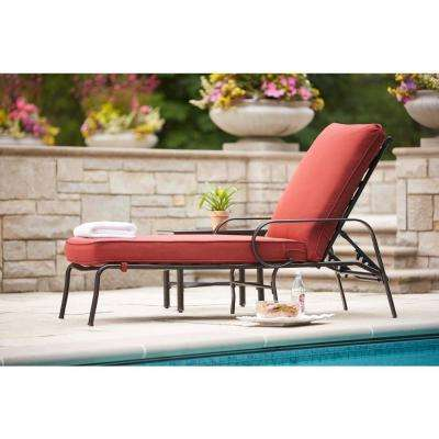 Contemporary Middletown Patio Chaise Lounge ... patio lounge chairs